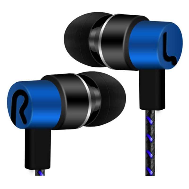 Nowy uniwersalny 3.5mm słuchawka sportowa słuchawki douszne basowy zestaw słuchawkowy radio hifi słuchawki douszne słuchawki sportowe do telefonu komórkowego