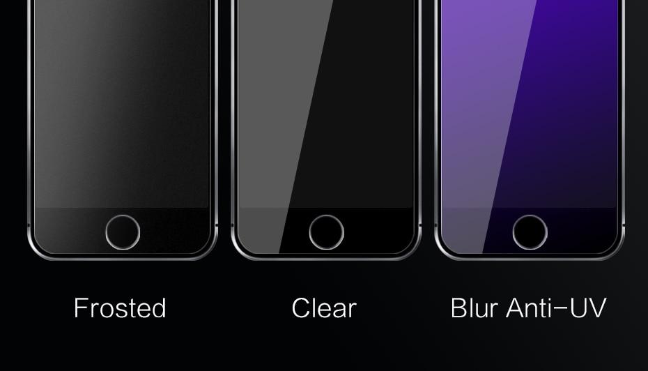 CHYI bez odcisków palców matowe szkło dla iphone 5s SE 5C ochraniacz ekranu oleofobowa powłoka 9 H dla iphone 7 8 plus xs Max XR szkło 6