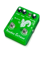 JOYO Guitar Effect Pedal Bass Dynamic Compression Effects Voodoo Octave Electric A Mid-cut Switch Control Tone JF-12