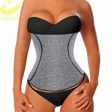 LAZAWG женский тренажер для талии, контрольный пояс для живота, неопреновый Топ для потери веса, для похудения, нижнее белье, тренировочный пояс, моделирующий ремень
