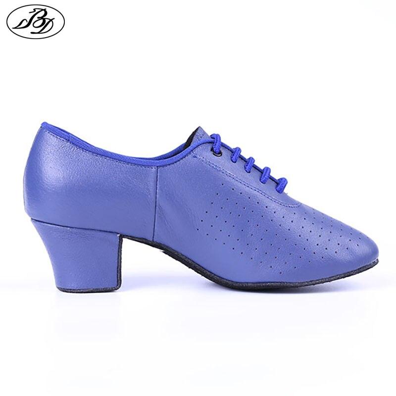 76fae1260e Ladies Teaching Dance Shoes BD T1 Women Ballroom Shoes Napped Outsole  Jujube Red Practice Shoe
