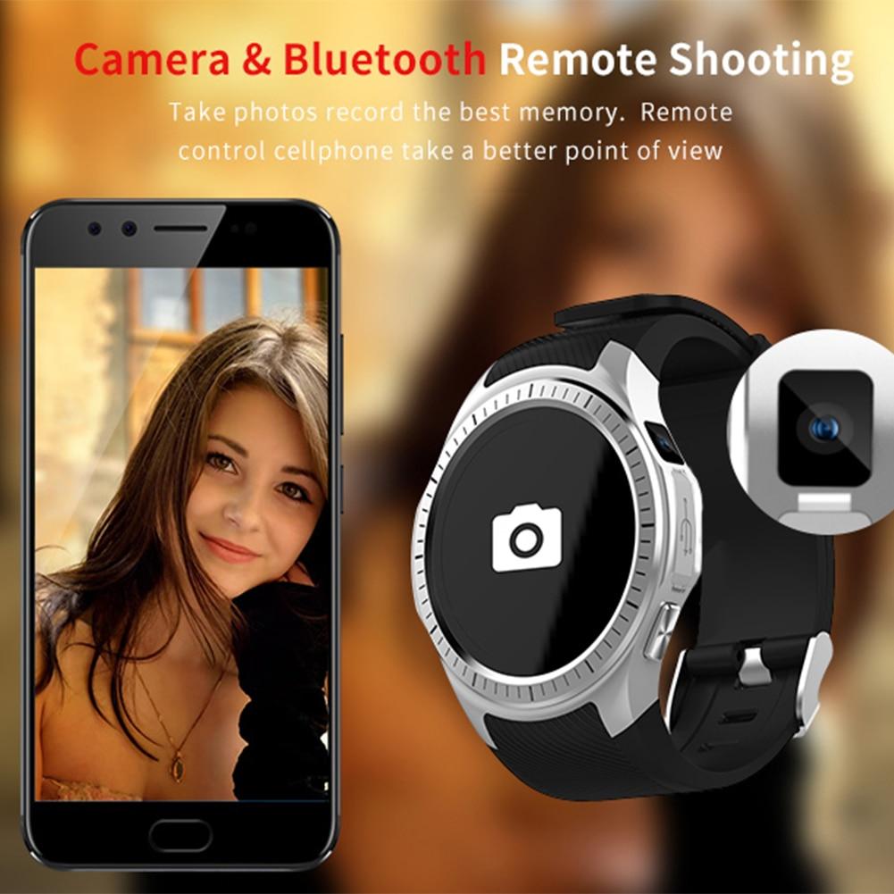 Bluetooth Sport Montre Smart Watch Coeur Taux Wifi GPS Smartwatch Appel Caméra Soutien SIM Carte Boussole Smartwatch Reloj Deportivo