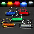 6 LED Side Marker Light Indicator Lamp Bus Truck Trailer Lorry 24V Amber