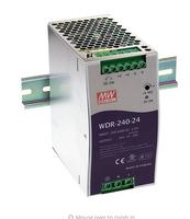 meanwell power supply WDR-240- 24v  48vv 240W Single Output Industrial DIN RAIL Power Supply