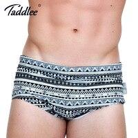 Taddlee Merk Mannen Zwemkleding Badmode Man Zwemmen Bikini Slips Mannelijke mannen Swim Boxer Trunks Shorts Board Surf Badpakken nieuwe