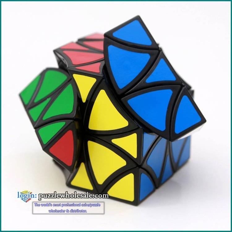 Cubo mágico quebra-cabeças iq cérebro cubos magicos