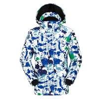 Открытый лыжный костюм Мужская утолщенная теплоизоляция Одноместный доска альпинизм дышащий аварийный Альпинизм костюм