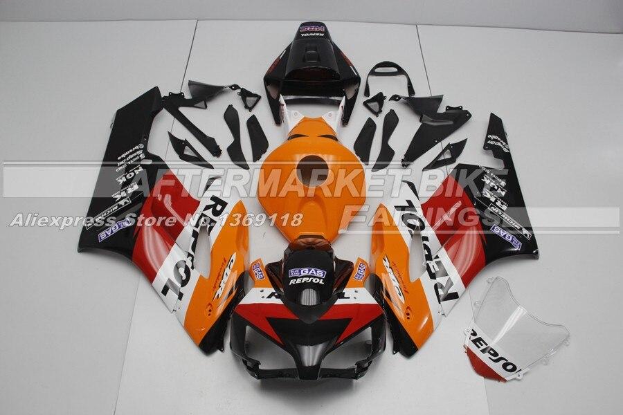 Repsol УФ покрасочные работы CBR1000RR 2005 комплект обтекателей для Honda 04 05 Superbike мотоцикл Пластик чехол 2004