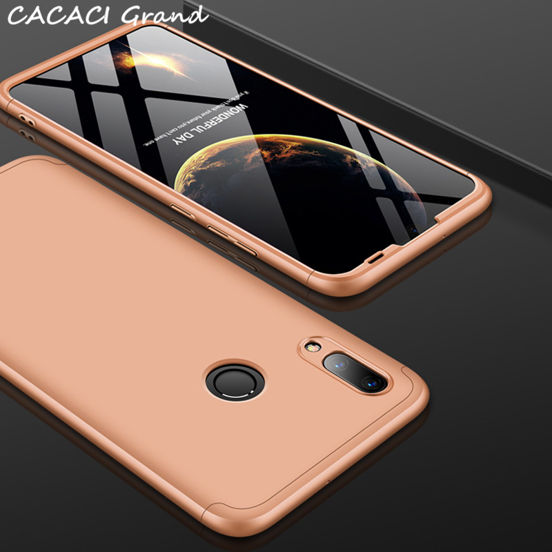 3 in 1 360 Full Protection Case for Huawei P Smart 2019 P20 Lite ShockProof Hybrid Hard Case for Huawei Honor 8A 8a Cover etui