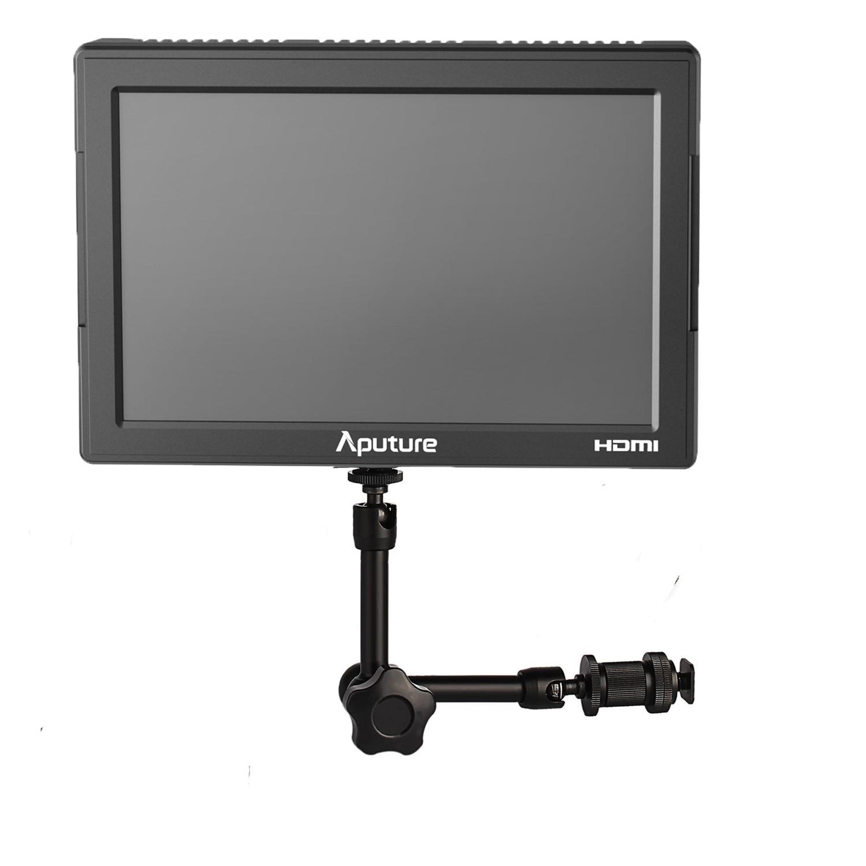 Aputure vs 5 HD SDI HDMI 1920*1200 видео Мониторы + 7 дюймов Магия Кронштейн для Sony canon цифровых зеркальных фотокамер Nikon Камера