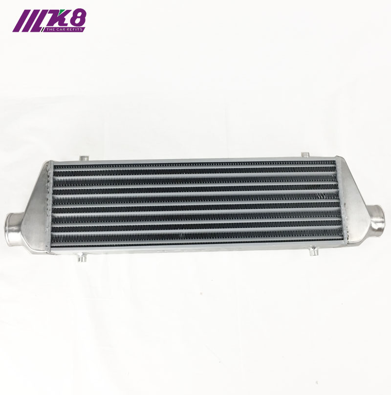 Montaje frontal intercooler 550*180*65mm radiador Turbo universal de barra y placa OD = 63mm RODIN