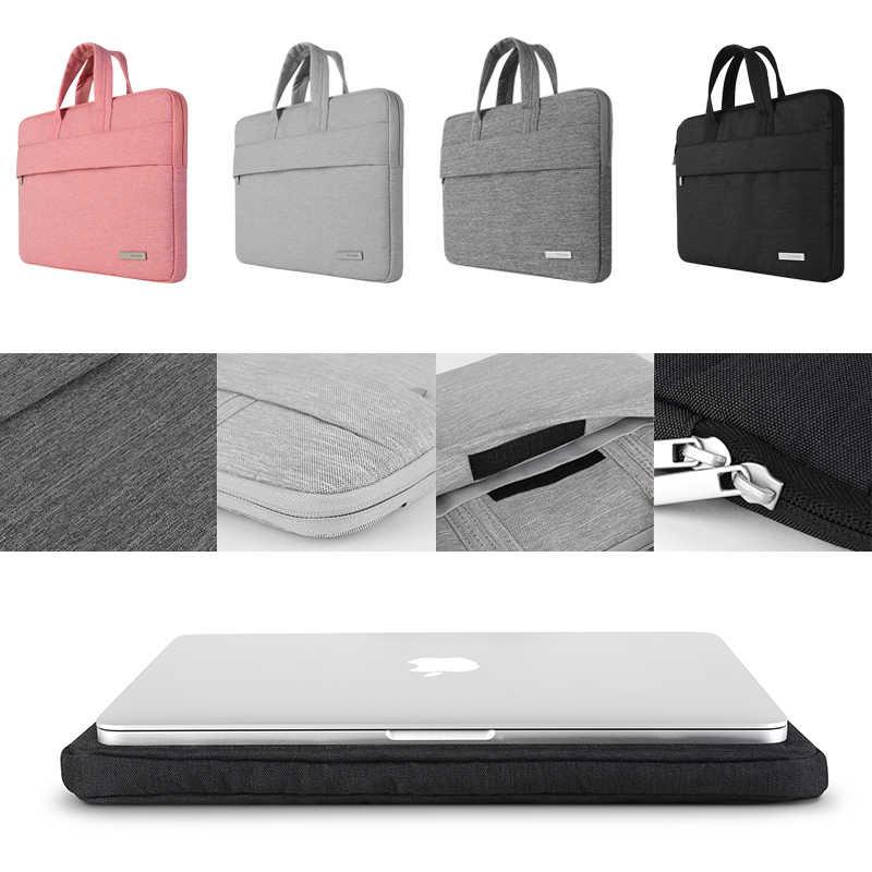 Bestchoi ноутбука Тетрадь сумка для Dell HP ASUS Acer Toshiba Lenovo 13.3 14.1 15.6 дюймов Сумка для ноутбука MacBook air 13 случай