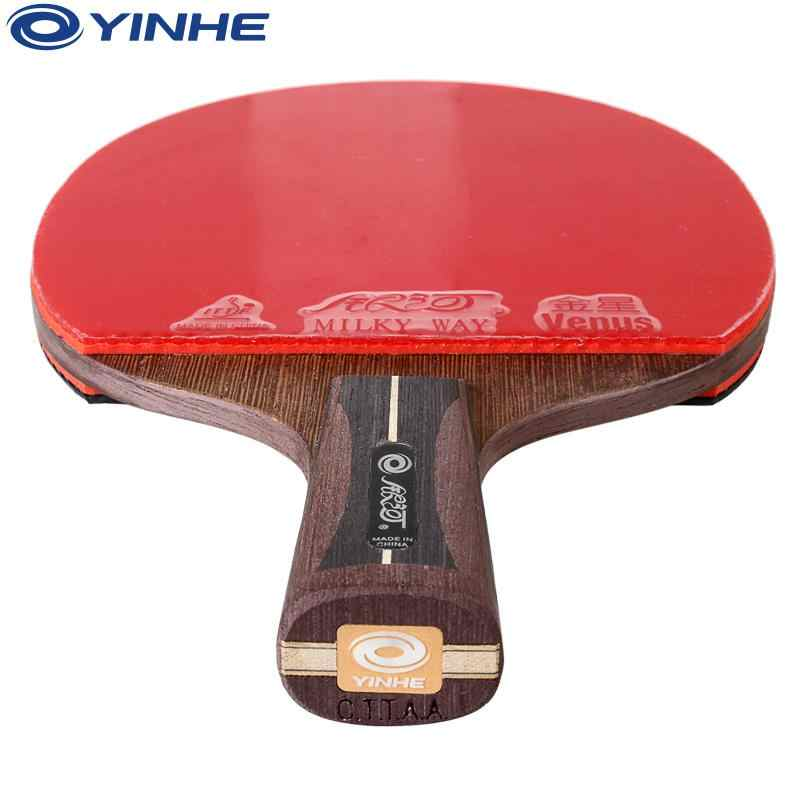 Original Yinhe Galaxy 12 Stars National Table Tennis Racket Pimples-in Rubber Ping Pong Raquete De Pingpong Bat