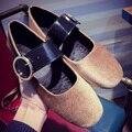 ADAcolorDay Мода Лето Весна Мэри Джейн Квартиры Обувь Твердые Круглого Toe Стая Женщины Мокасины Удобные Женская Обувь Люксовый Бренд