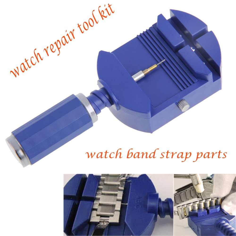 Tonton Tools Watch Band Remover Adjuster Watch Link untuk Band Pembuat Jam Pin Professional Watch Perbaikan Horloge Reparatieset