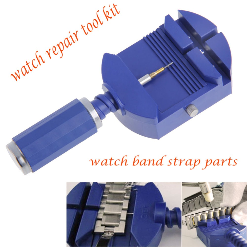 Watch Link For Band Slit Strap Bracelet Chain Pin Remover Adjuster Repair Tool Kit 28mm with Free 5 Pins For Men/Women Watch цена и фото