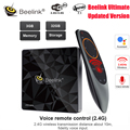 Beelink GT1 <font><b>Ultimate</b></font> Android 7,1 tv Box Amlogic S912 Восьмиядерный процессор 3g ram 32G rom Bluetooth 4,0 FHD 4K телеприставка медиаплеер
