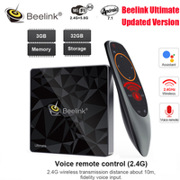 Hot Beelink GT1 A/GT1 Ultimate Android 7.1 TV Box Amlogic S912 Octa Core 3GB+32GB Bluetooth 4.0 FHD 4K Set Top Box Media Player
