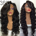 Best Full Lace Human Hair Wig Brazilian Glueless Lace front Human Hair Wig Body Wave 130 Density Full Lace wig For Black Women
