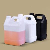 2 шт HDPE F-style галлон бутылки с 38 мм вскрытия прозрачные крышки 4 литра пищевой многоразовый бутылки кувшин контейнер