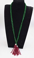 one strand green and pink red jades stone beads roundel 4*2mm necklace wholesale beads 32inch gift discount
