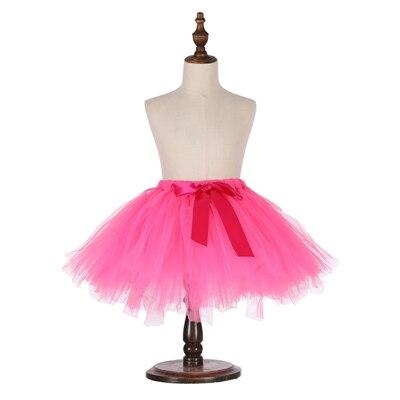 Милые пышные мягкие фатиновые юбки-пачки для малышей; юбка-американка для дня рождения для новорожденных; юбки-пачки для девочек; детские юбки-пачки; одежда для малышей - Цвет: Многоцветный