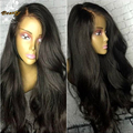 Glueless Silk Top Full Lace Wig Virgin Brazilian Hair 4x4 Silk Base Wig Body Wave Silk Top Lace Front Human Wigs For Black Women