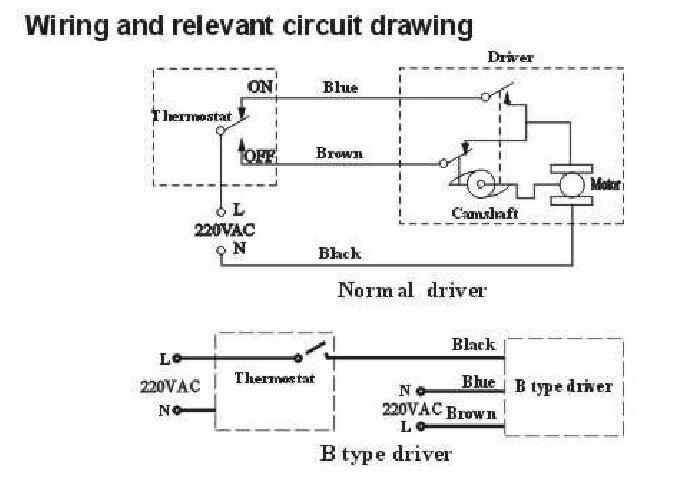 G1 2Valvola elettrica motorizzata in ottone DN15 per controllo di flusso 3 vie 220VAC