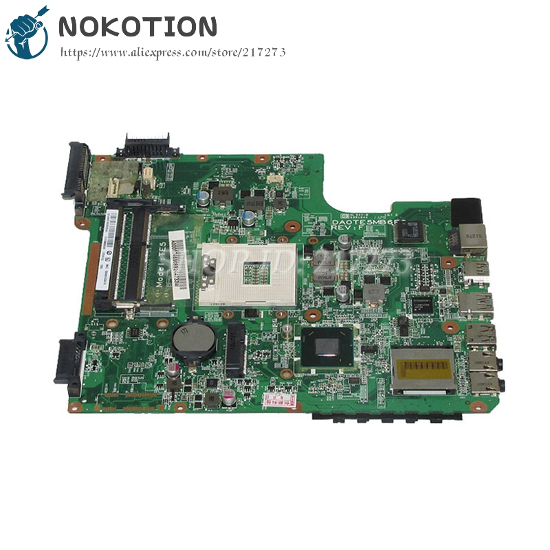 NOKOTION DA0TE5MB6F0 A000074690 MAIN BOARD For Toshiba Satellite L740 L745 Laptop Motherboard HM65 UMA DDR3 a000093450 date5mb16a0 for toshiba l745 l740 laptop motherboard ddr3 free shipping 100% test ok