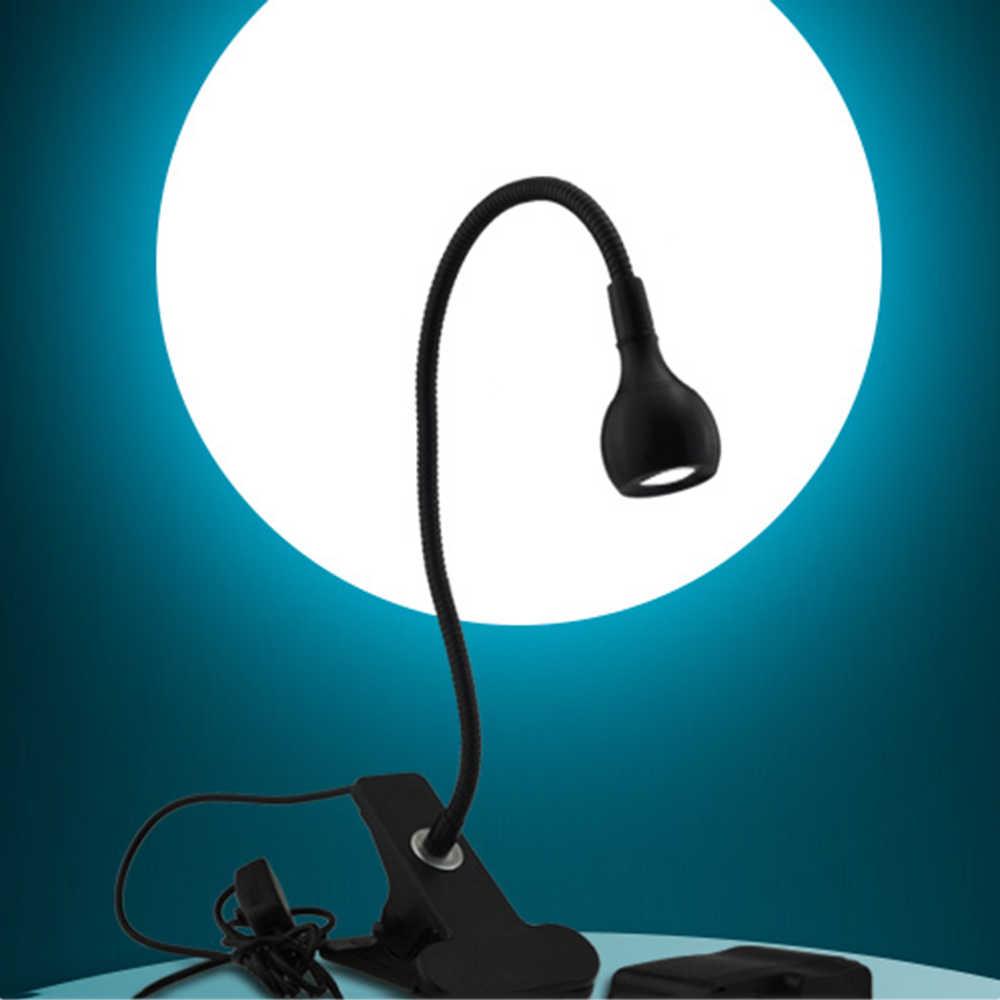 Настольная лампа с зажимом Регулируемый USB гибкая Гусь Средства ухода за кожей Шеи глаз-care рядом с настольные лампы ноутбук книга изучения ночь свет да