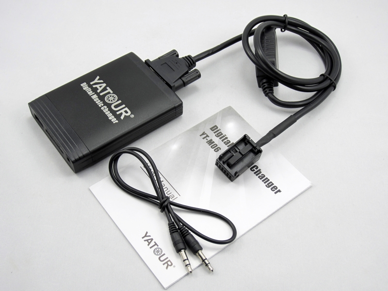 Yatour pour Peugeot 307 407 807 C4 C5 USB MP3 Bluetooth Radio adaptateur Numérique Musique Changeur YT-M06 AUX Citroen C2 C3 C4 C5 C8