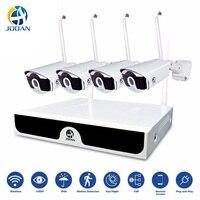 Беспроводной комплект 4CH видеонаблюдения NVR 1080 P IP Камера 2MP Wi Fi система наблюдения ссtv P2P камера видеонаблюдения беспроводная наблюдения Сис