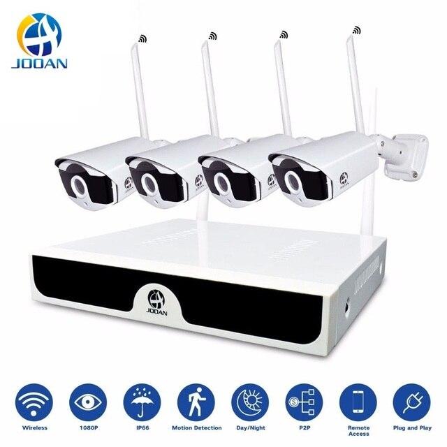 Camera Surveillance 4CH CCTV Kit Camera Surveillance NVR 1080P IP Camera Wifi 2MP CCTV System Camera Wi-fi Surveillance System