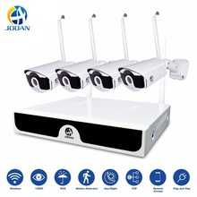 Kit CCTV Wireless Video Surveillance H.265 8CH NVR 4 Cameras Home Security  System DVR Kit Outdoor IP Camera CCTV Camera System smartyiba 9 inch 720p security cctv system night vision camera de surveillance home video cctv cameras dvr nvr surveillance kit