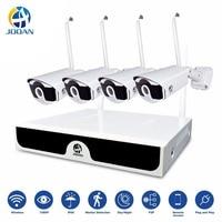 Wireless Video Surveillance H.265 8CH NVR 4CH Cameras Home Security System DVR Kit IP Camera Outdoor Set HD CCTV System NVR Kit