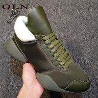 Oln Новый Для мужчин кроссовки брендовые уличные бег обувь для ходьбы на открытом воздухе спортивная обувь для Для мужчин супер легкий Для му