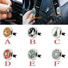 New 2018 Stainless Air Auto Vent Freshener Essential Oil Diffuser Gift Locket Decor car air freshener car perfume car-styling(China)