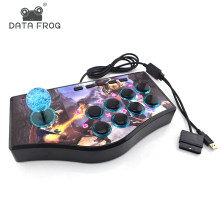 Data Frog Custom Arcade Game Joystick USB Rocker Game Controller For PS2/PS3/PC For Xiaomi/Samsung Android Phone Play Games(China)