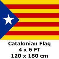 Каталония каталонский флаг 120x180 см 100D полиэстер Catalunya Catalans Estelada blava флаги и баннеры Bandera Catalana