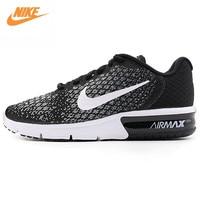 Nike Оригинальный официальный Новое поступление 2017 Air Max Для женщин Кроссовки Спортивная обувь 852465