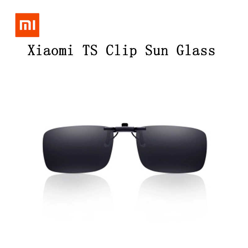 Xiaomi Turok Steinhardt TS Clip Sunglasses Polarized Clear Sight Sun Glas s Anti UVA UVB Mijia for Myopia Outdoor Travel 2