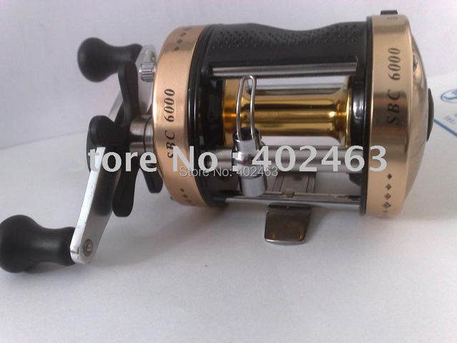 Fishing tackle  Bait  Casting Fishing Reels  SBC6000AL  Aluminum alloy 5.3:1