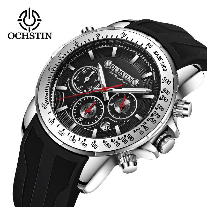 OCHSTIN Luxury Brand pilot Watch Men s Quartz Clock Sports Waterproof Wrist Watches Relogio Masculino orologio