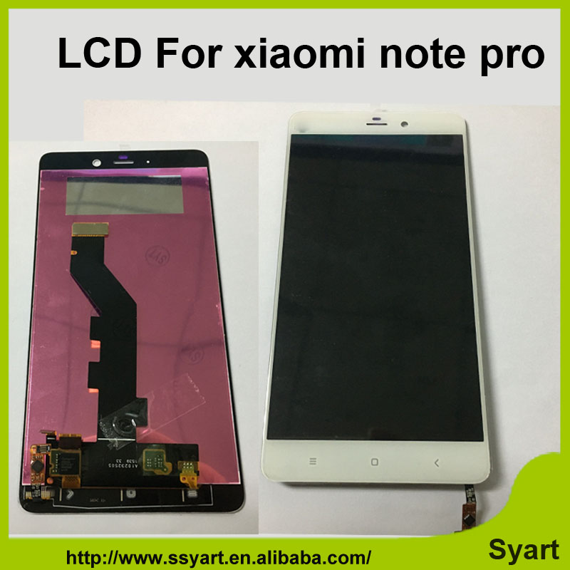 ФОТО 10pcs/lot China Wholesale Mobile phone LCD display Touch Panel screen repair Replacement lcd assembly 5.7'' For Xiaomi note pro