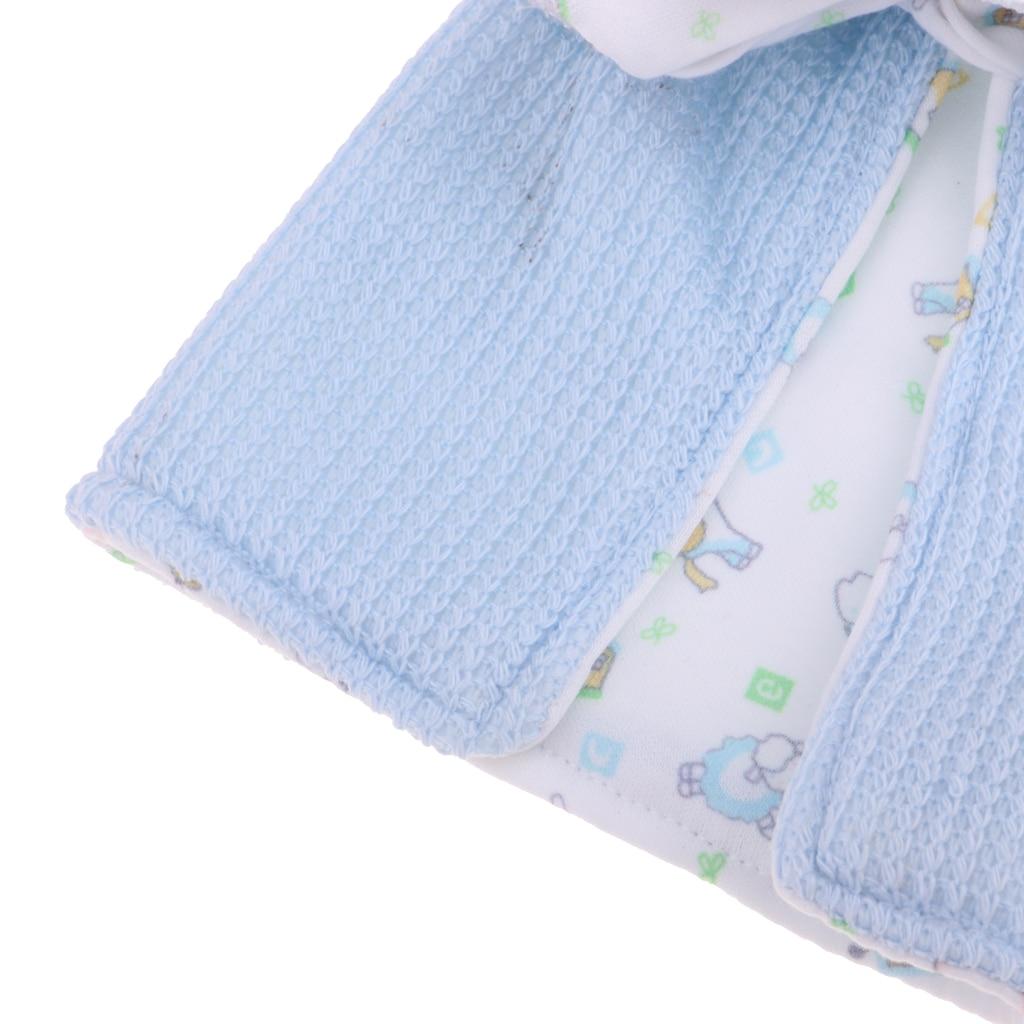 Cotton Hat Blanket Underpants Set for 26-28cm Newborn Baby Doll
