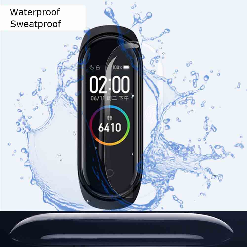 Image 3 - Mi Band 4 Protector Pantalla For Xiaomi Mi Band 4 3 Screen Protector Film For Xiaomi NFC Miband 4 3 Smart Bracelet Films 10 Pcs-in Smart Accessories from Consumer Electronics
