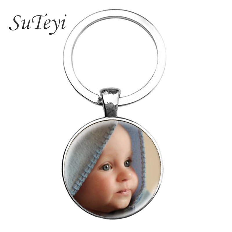 SUTEYI Personalized Photo keychain Custom Key Chain Photo of Your Baby Child Mom Dad Grandparent Loved One Gift for Family Gift|key chain photo|photo keychaincustom key chain - AliExpress