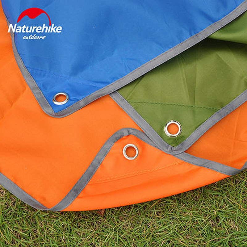 Naturehike c&ing tent mats oxford fabric mini tarp canopy sun shelter beach awning picnic blanket footprint for 2 person tent-in Sun Shelter from Sports ... & Naturehike camping tent mats oxford fabric mini tarp canopy sun ...