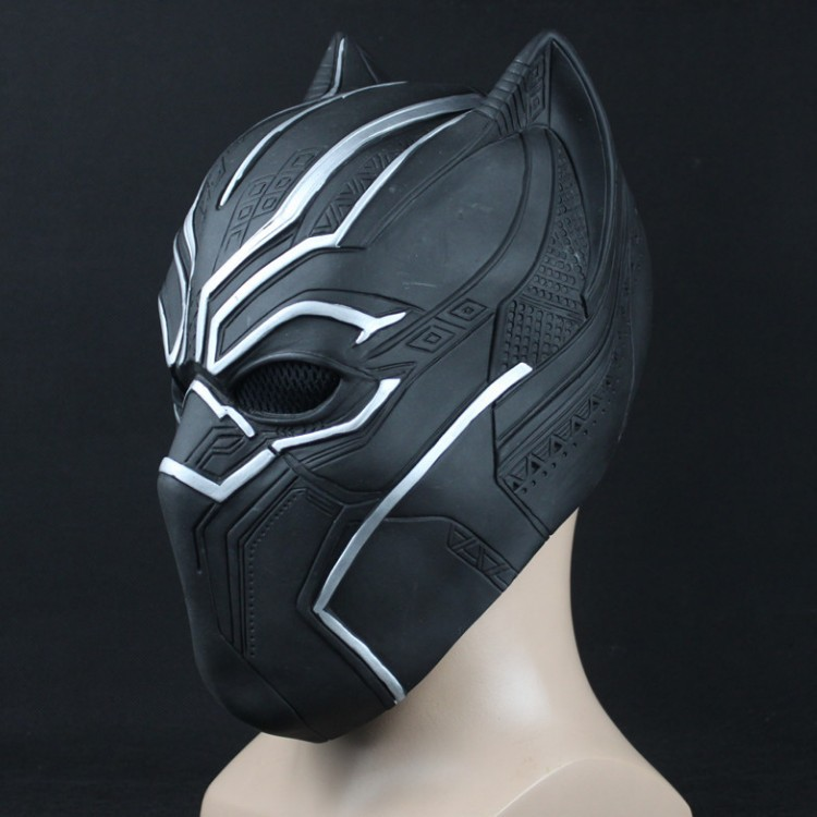 Cosplay costume Black Panther 3D Printed avengers Roles Cosplay Latex Soft Mask carnaval kigurumi props