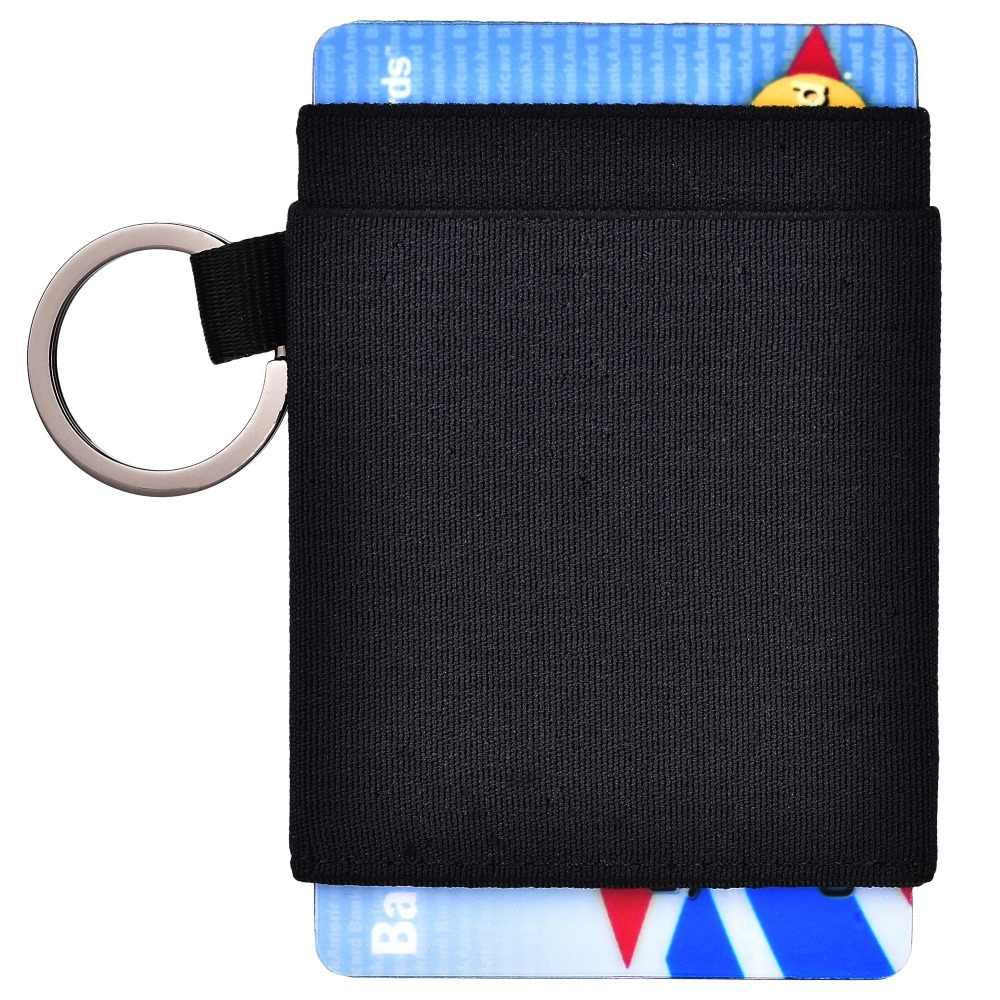 74d2b73b40b9 Minimalist Slim Wallet Elastic Front Pocket Credit Card Holder for ...